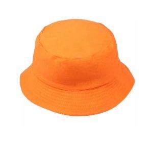הדפסה על כובע כתום
