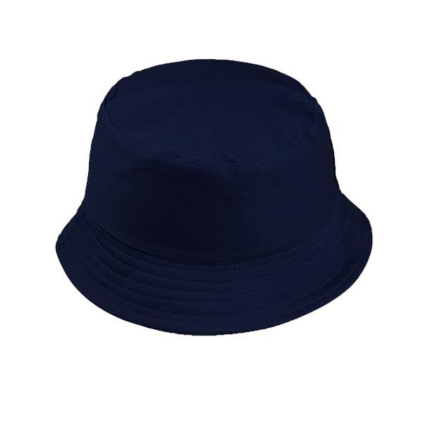 הדפסה על כובע טמבל כחול כהה
